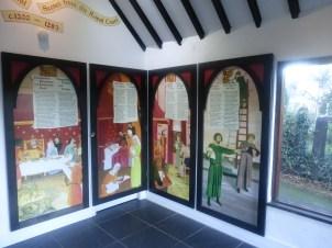Exhibition in Pump House, Abergwyngregyn