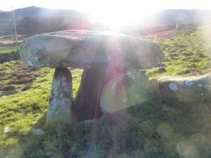 Maen y Bardd burial chamber