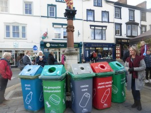 Conwy Feast 2018, serious about recycling