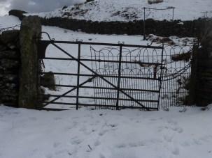 Old gate near the church