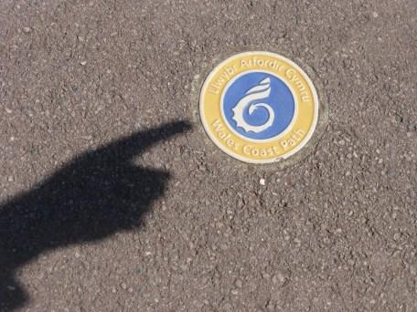 Wales Coast Path sign