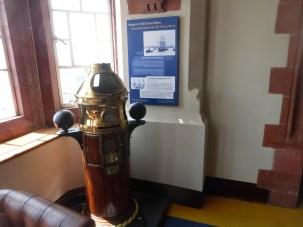 Binnacle compass from Scott of the Antarctic's ship.