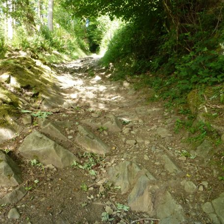 Coffin Path to the Old Church