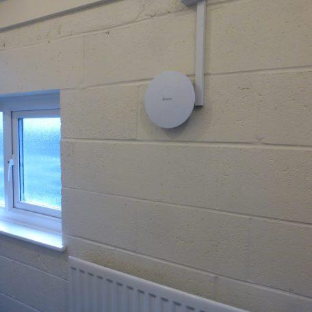 New quiet extractor fans in toilets