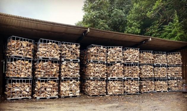 Drying shed at Bryn Mawr Farm