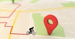 Najciekawsze rysunki na mapie wykonane rowerem i GPSem