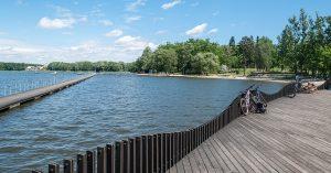 trasy rowerowe Katowice - Jezioro Paprocany