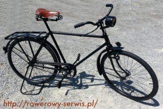 Renowacja roweru wojskowego Miele