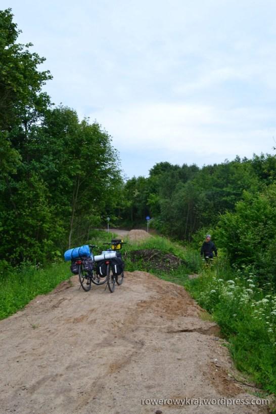 odcinek Green Velo na trasie Węgorzewo-Banie Mazurskie
