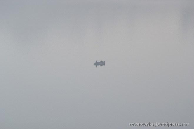 Ledwo co widać. Schowali się we mgle. Zdjęcie bez retuszu