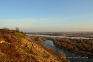 Panorama z Gór Pieprzowych na Wisłę