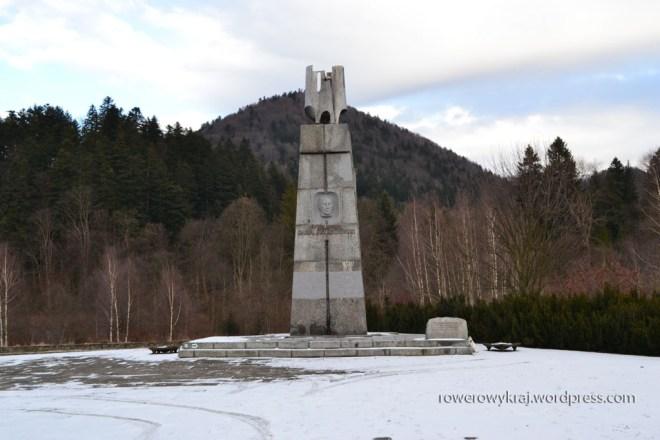 Pomnik gen. Karola Świerczewskiego w Jabłonkach