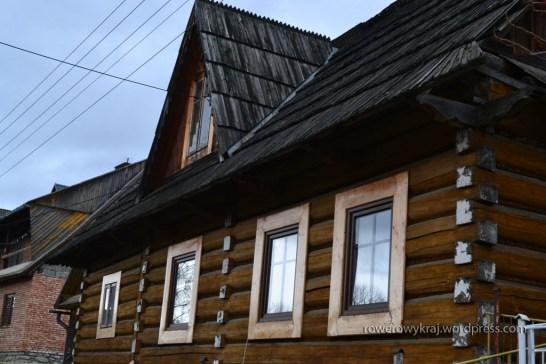 Drewniane chałupy w Rzepiskach