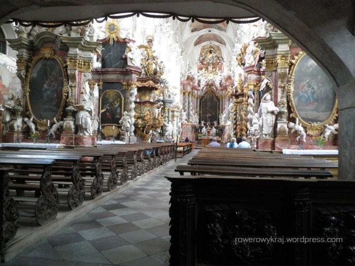 wnętrze Klasztoru Neuzelle