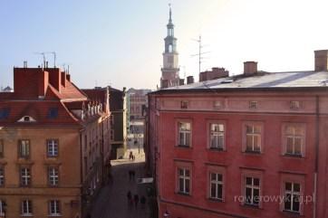 widok z tarasu Zamku Przemysła