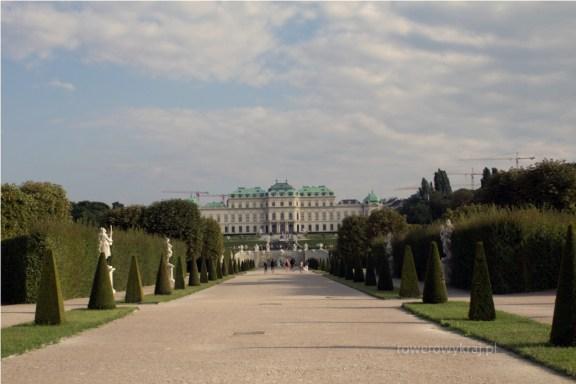 Belvederegarten. Schloss Belvedere