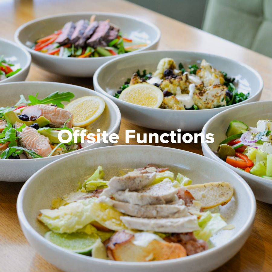 Offsite Functions at Rowers on Cooks River
