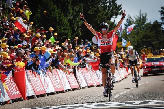 Thomas de Gendt wygrywa etap Tour de France