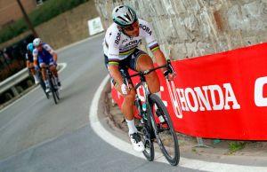 Akcja Petera Sagana na Poggio w Mediolan-San Remo 2017