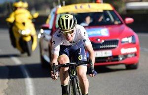 Simon Yates na drodze po etapowe zwycięstwo na trasie Paryż-Nicea