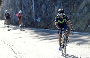 Nairo Quintana ucieka na 4. etapie Tirreno-Adriatico 2017