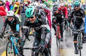 Peleton na Tour de Romandie