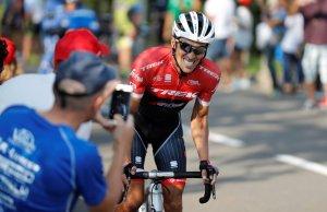 Alberto Contador w ataku