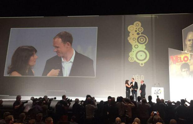 Chris Froome otrzymuje Vélo d'Or za 2017