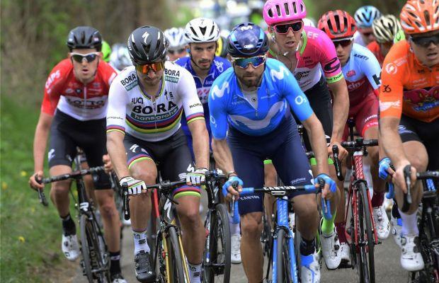 Sagan i Valverde na wzgórzu Amstel Gold
