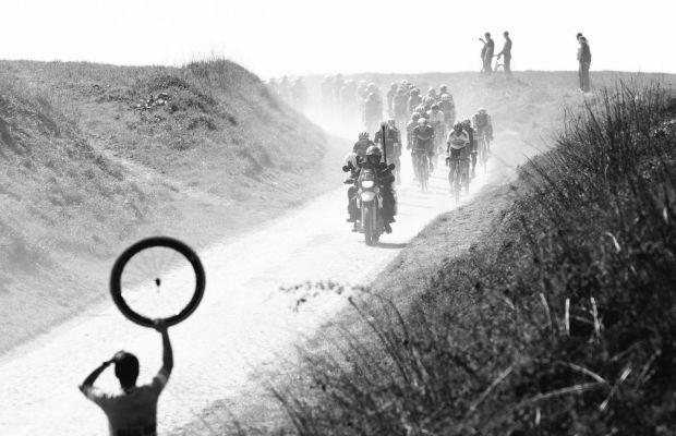 na trasie Paryż-Roubaix