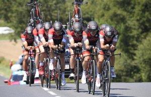 BMC Racing na trasie czasówki