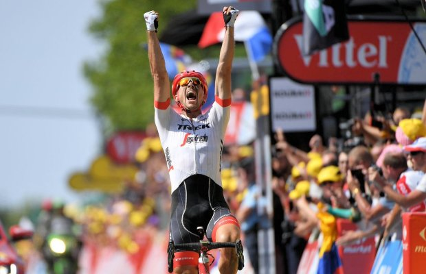 John Degenkolb triumfuje na 9. etapie Tour de France.