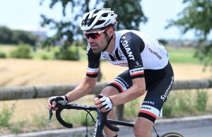 Tom Dumoulin na trasie Tour de France