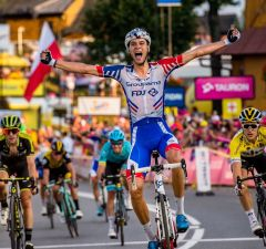 Georg Preidler finiszuje po zwycięstwo