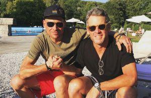 Lance Armstrong z Janem Ullrichem