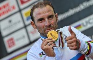 Alejandro Valverde ze złotem mistrzostw świata
