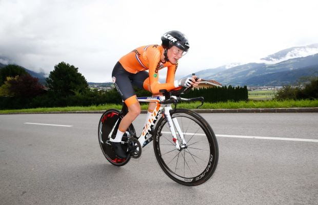 Rozemarijn Ammerlaan na trasie mistrzostw świata w Innsbrucku