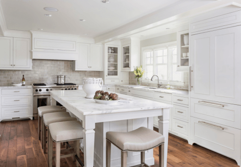Crisp White Kitchen