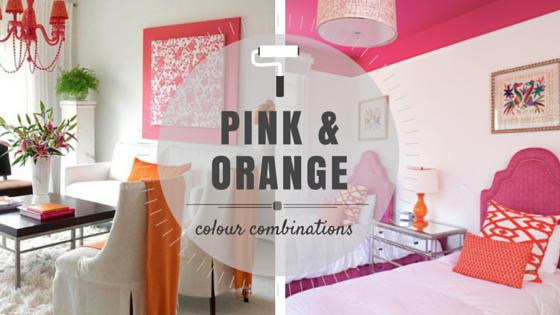 Colour Combinations Orange Pink Rowe Spurling Paint Company