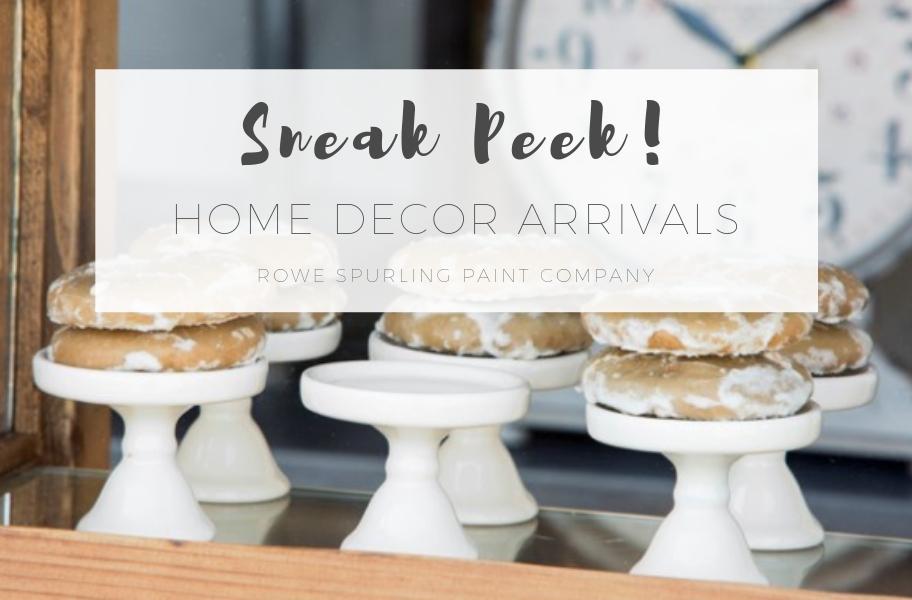 SNEAK PEEK - November Home Decor Arrivals PREVIEW