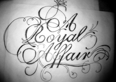 hand drawn lettering