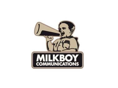 Milkboy Logo Design