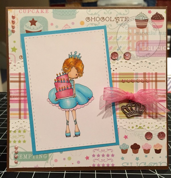 Rowhouse Greetings | Birthday card | Let Us Eat Cake by Tiddly Inks
