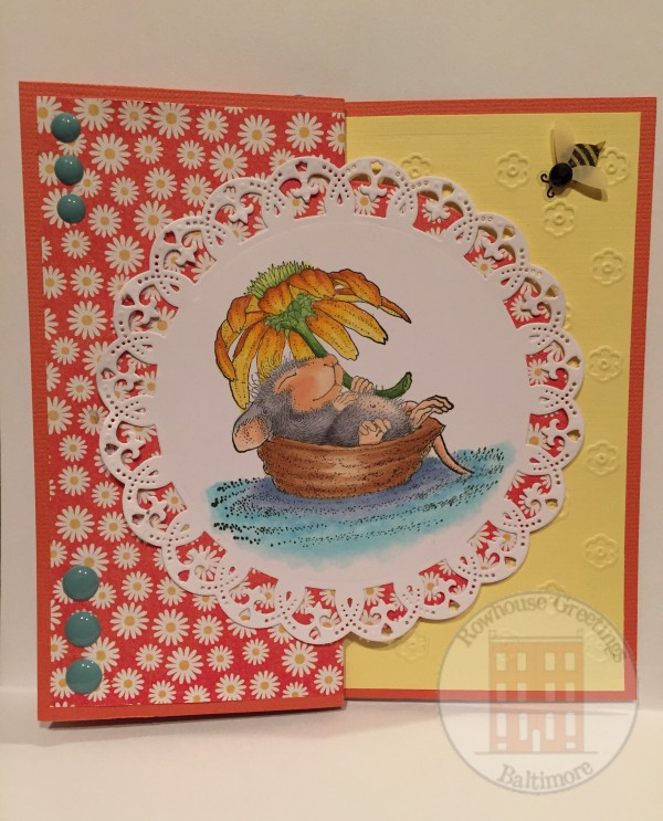 Rowhouse Greetings | Encouragement | Daisy Float by Stampendous House Mouse Designs