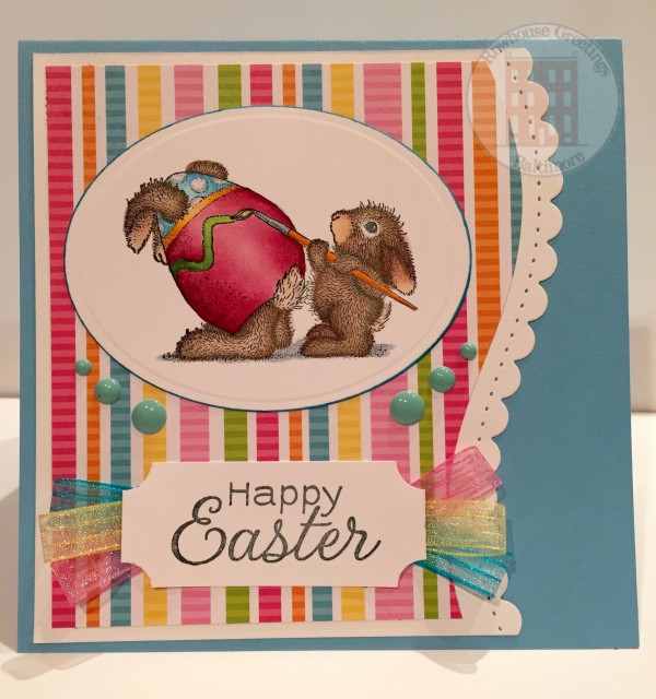 Rowhouse Greetings | Easter | Easter Bunny by Stampendous House Mouse Designs