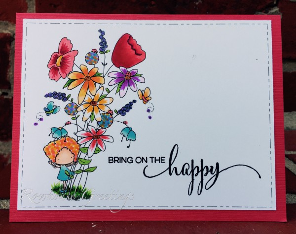 Rowhouse Greetings | Celebrations, Birthdays | Poppy Posy by Tiddly Inks, Sprinkles and Smiles by Penny Black