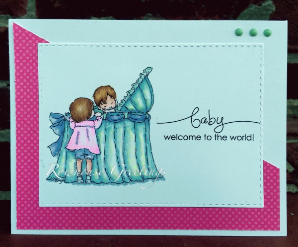 Rowhouse Greetings | Baby | New Baby by Mo's Digital Pencil