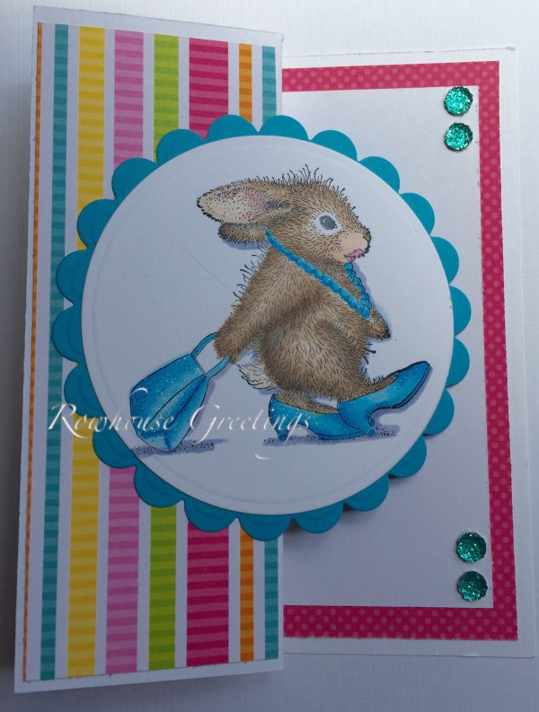Rowhouse Greetings | Birthday | Diva Hopper by House Mouse Designs