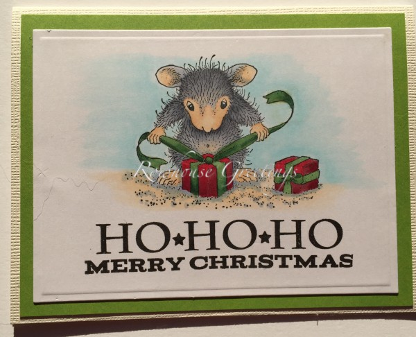 Rowhouse Greetings | Christmas | Gifts to Tie by House Mouse Designs