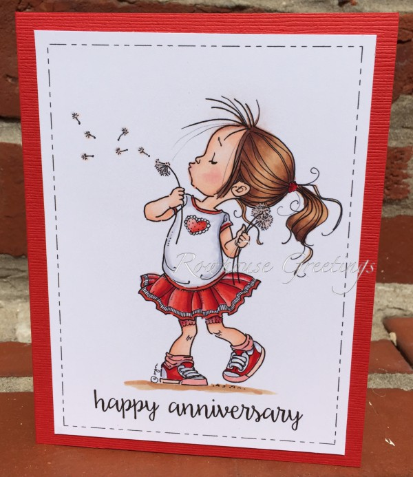 Rowhouse Greetings | Anniversary | Make a Wish by Mo's Digital Pencil